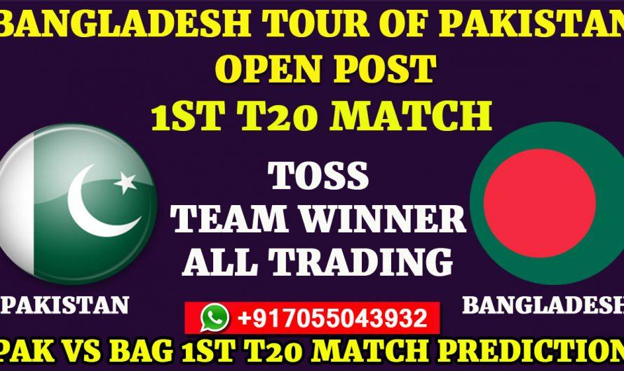 1ST T20 Match, Bangladesh tour of Pakistan 2020: Pakistan vs Bangladesh, Full Prediction & Tips