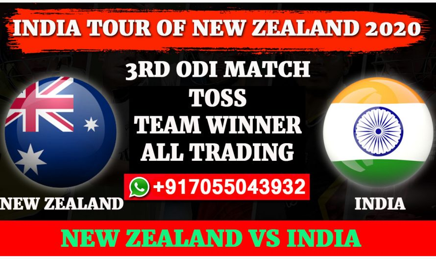 3RD ODI Match, India tour of New Zealand 2020: India vs New Zealand, Full Prediction & Tips