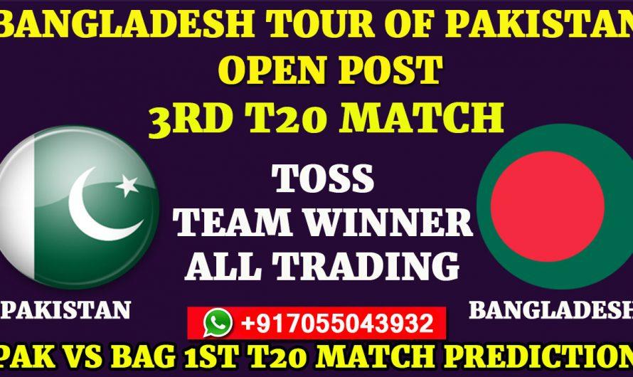 3RD T20 Match, Bangladesh tour of Pakistan 2020: Pakistan vs Bangladesh, Full Prediction & Tips