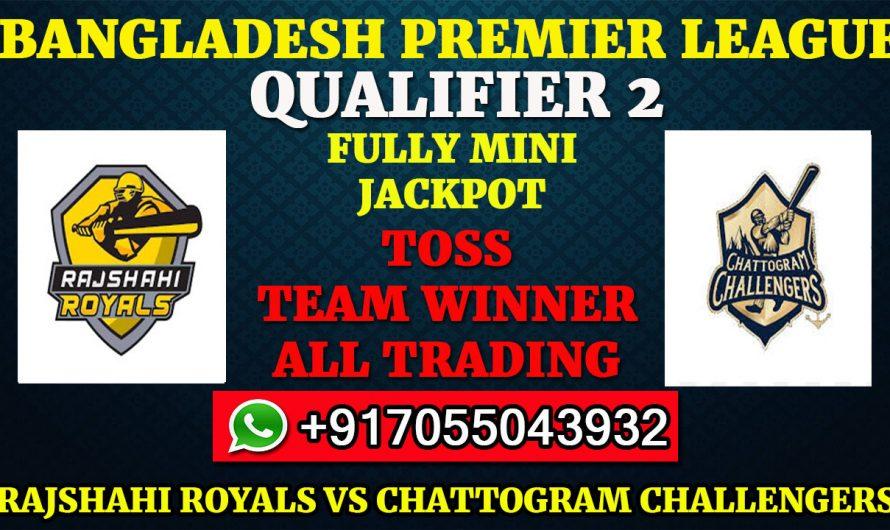 Qualifier 2 Match, BPL 2019-20: Rajshahi Royals vs Chattogram Challengers, Prediction & Tips