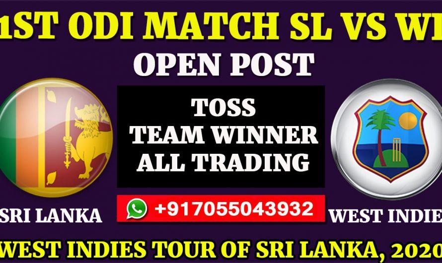 1ST ODI Match, West Indies tour of Sri Lanka 2020: Sri Lanka vs West Indies, Full Prediction & Tips
