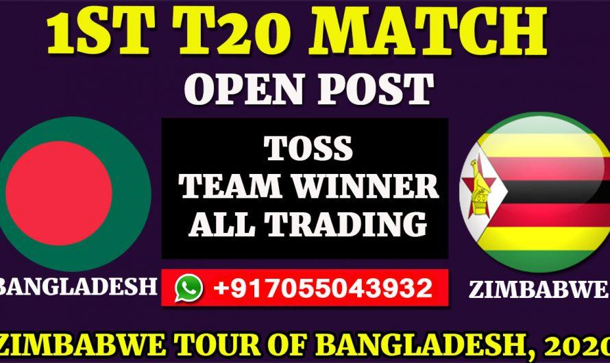 1ST T20 Match, Zimbabwe tour of Bangladesh 2020: Bangladesh vs Zimbabwe, Full Prediction & Tips