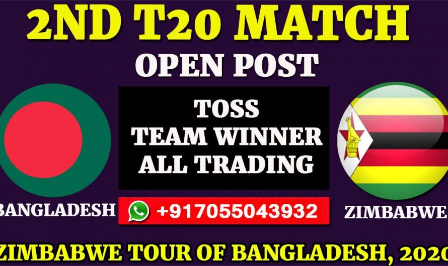2ND T20 Match, Zimbabwe tour of Bangladesh 2020: Bangladesh vs Zimbabwe, Full Prediction & Tips
