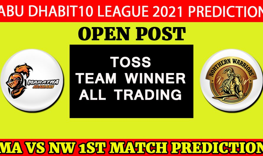 28th JAN ALL Match, Abu Dhabi T10 League 2021, Match Prediction & Tips