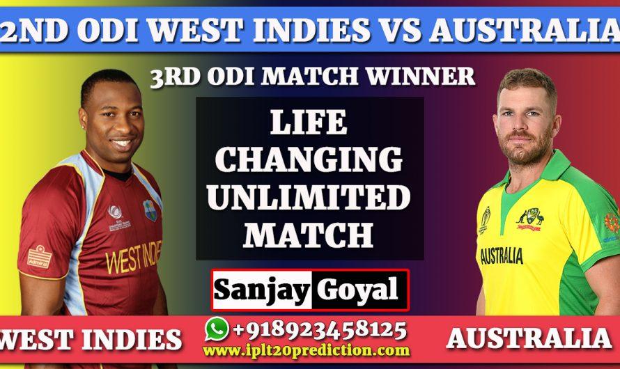 3rd ODI West Indies vs Australia Match Prediction, WI vs AUS Dream11 Prediction