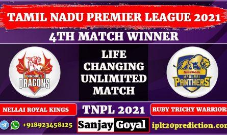 4TH match Dindigul Dragons vs Madurai Panthers