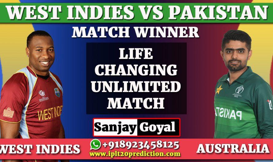 4th T20 Match Prediction West Indies vs Pakistan, WI vs PAK Dream11 Prediction